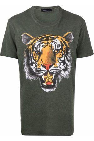 Dsquared2 Men Short Sleeve - Graphic-print short-sleeve T-shirt