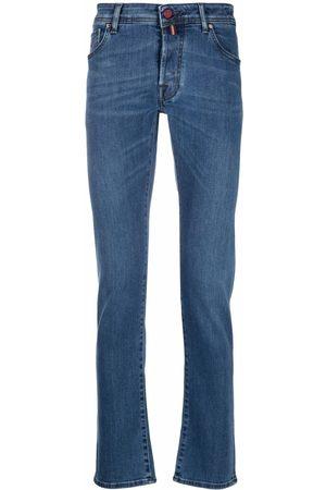 Jacob Cohen Men Slim - Embroidered-logo slim-fit jeans
