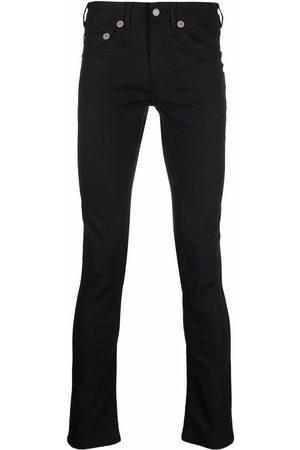 Neil Barrett Men Skinny - Logo-patch skinny-cut jeans