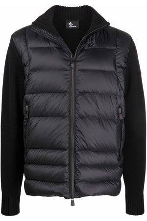 Moncler Men Puffer Jackets - Roll-neck padded cardigan