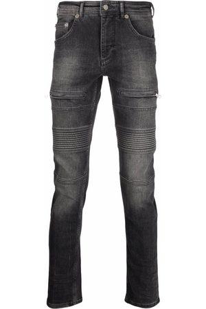 Neil Barrett Men Skinny - Skinny-cut panelled jeans - Grey