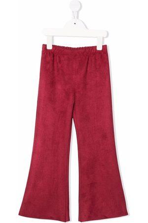 LA STUPENDERIA Girls Wide Leg Pants - Elasticasted wide-leg trousers