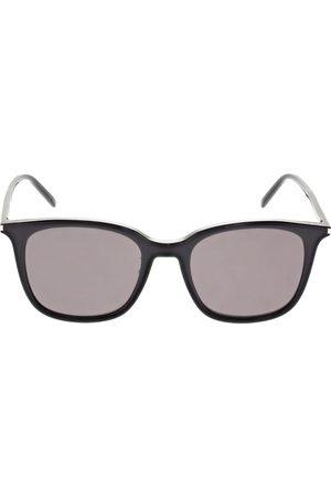 Saint Laurent Women Round - Sl 489/k Thin Round Acetate Sunglasses