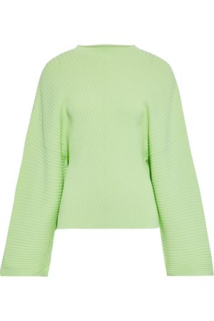 Solace Woman Raynel Ribbed-knit Sweater Light Size 8