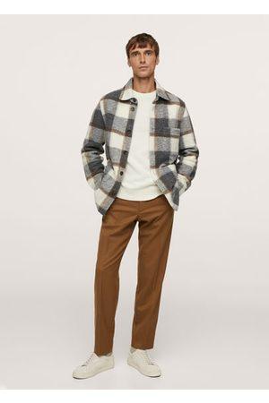 MANGO Virgin wool pants