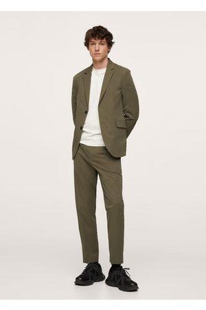MANGO Slim fit stretch pants