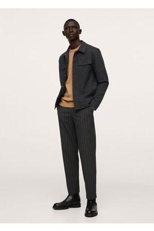 MANGO Pocket textured jacket