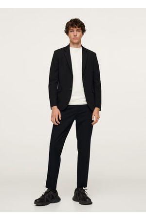 MANGO Slim-fit technical suit blazer