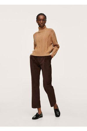 MANGO Herringbone knit sweater