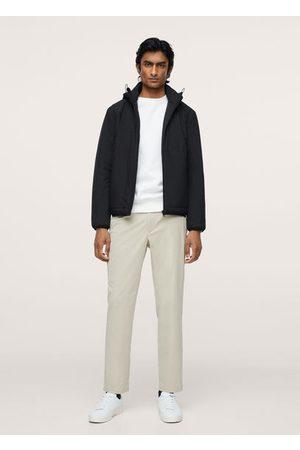 MANGO Raincoat hooded jacket