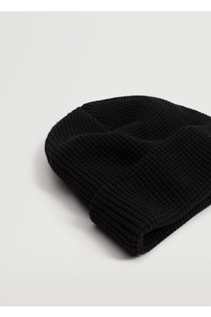 MANGO Knit cotton beanie