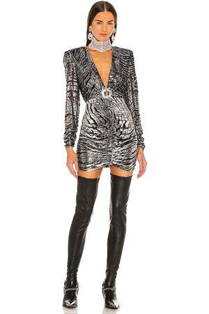 DUNDAS x REVOLVE Stardust Mini Dress in Metallic .