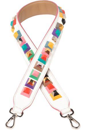 Fendi Leather Studded Strap You Shoulder Bag Strap