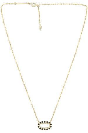 Kendra Scott Women Necklaces - Elisa Open Frame Necklace in Metallic .