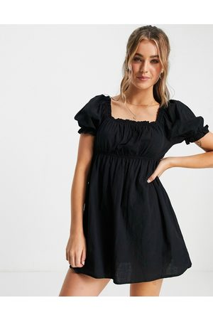 Cotton On Women Beach Dresses - Cotton: On puff sleeve beach dress in