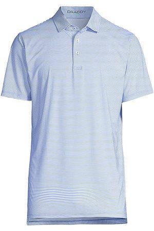 B Draddy Men Polo Shirts - Jimmy Striped Sport Polo Shirt
