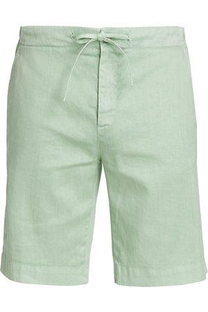 Loro Piana Men Bermudas - Linen & Cotton Bermuda Shorts
