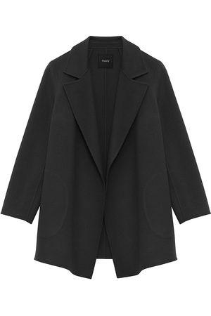 THEORY Women Coats - Clairene Wool-Cashmere Coat