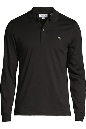 Lacoste Men Polo Shirts - Long-Sleeve Polo Shirt