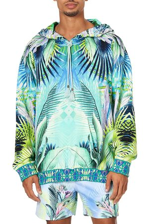 Camilla Men Hoodies - Party Like Oversized Relaxed-Fit Hoodie Sweatshirt