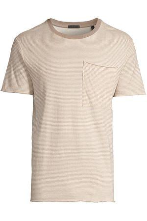 ATM Anthony Thomas Melillo Men Sweatshirts - Striped Crewneck T-Shirt