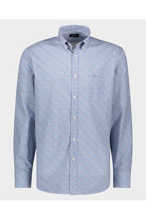 Paul & Shark Organic cotton poplin printed shirt