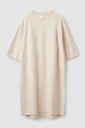 COS Women Casual Dresses - OVERSIZED-FIT WOOL T-SHIRT DRESS