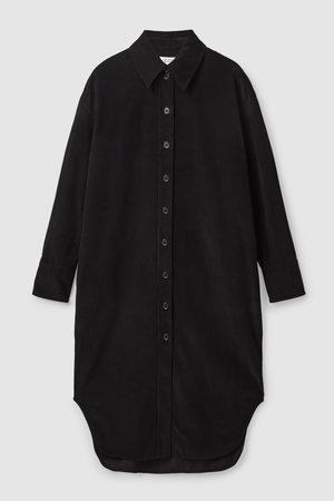 COS Women Casual Dresses - CORDUROY SHIRT DRESS