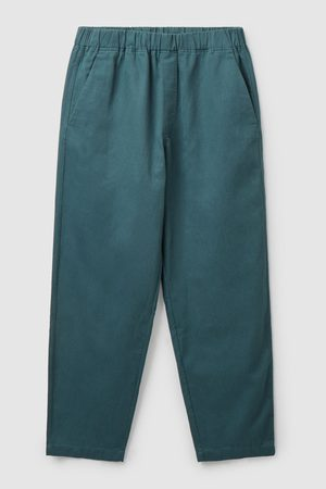 COS RELAXED-FIT TWILL TAPERED PANTS