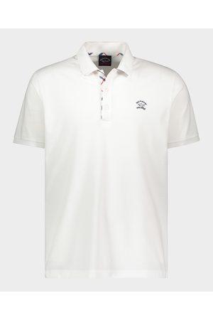Paul & Shark Men Polo Shirts - Organic Cotton Piqué Polo With Embroidered Logo