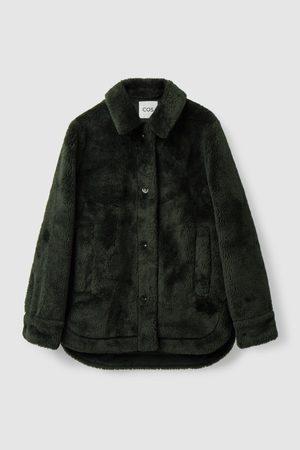 COS Women Fleece Jackets - TEDDY JACKET