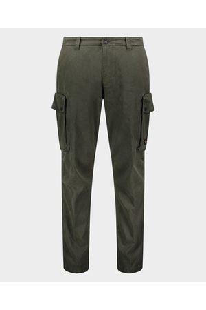 Paul & Shark Stretch cotton & tencel cargo trousers
