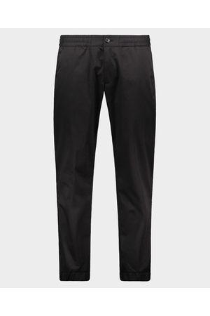 Paul & Shark Stretch cotton satin drawstring trousers