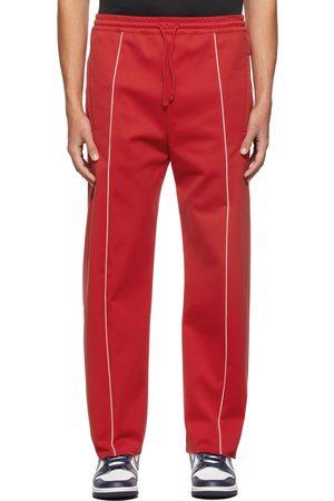 424 FAIRFAX Men Sweatpants - Red Contrast Track Pants