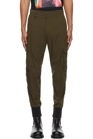 HUGO BOSS Men Cargo Pants - Khaki Glavin211 Cargo Pants