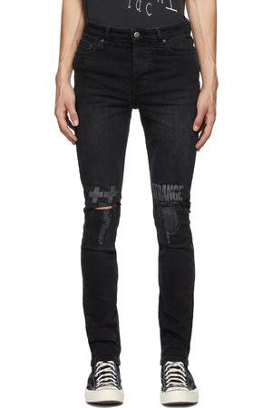 KSUBI Men Jeans - Black Krow Maniac Chitch Jeans