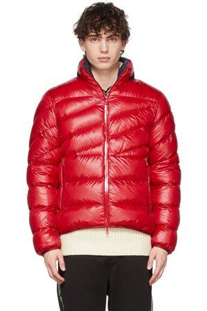 Moncler Men Jackets - Red Nylon Hanin Jacket