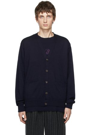 Bed J.W. Ford Men Cardigans - Wool Buttoned Cardigan