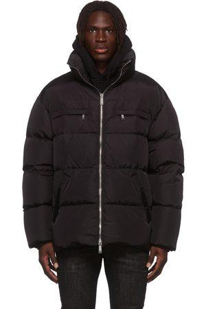Dsquared2 Black Down Toen Puffer Jacket