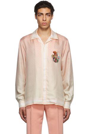 Casablanca Men Shirts - Pink Racing Roulette Shirt