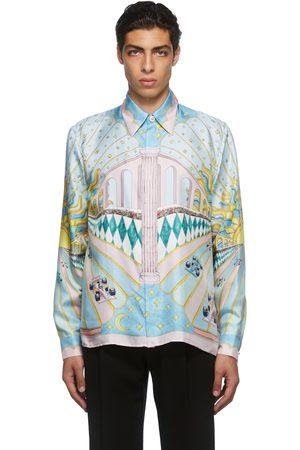 Casablanca Men Shirts - Multicolor Print Shirt