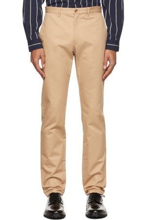A.P.C. Men Chinos - Beige Chino Trousers
