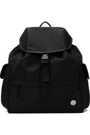 A.P.C. Black Stamp Backpack
