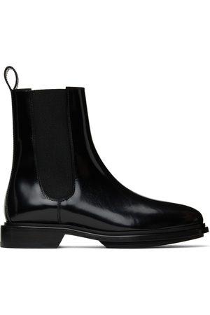 A.P.C. Men Chelsea Boots - Black Charlie Chelsea Boots