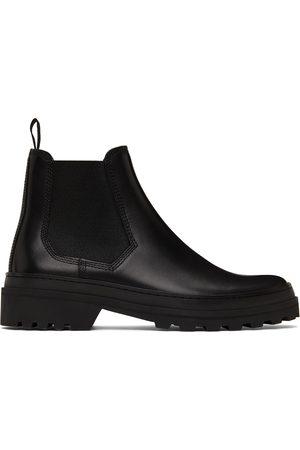 A.P.C. Men Chelsea Boots - Black Cali Chelsea Boots