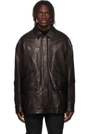 JUUN.J Men Leather Jackets - Safari Leather Jacket