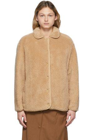 Burberry Women Fleece Jackets - Beige Kettlewell Fleece Jacket