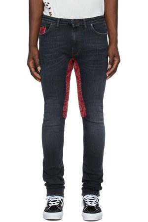 Alchemist Black & Red Ringo Jeans