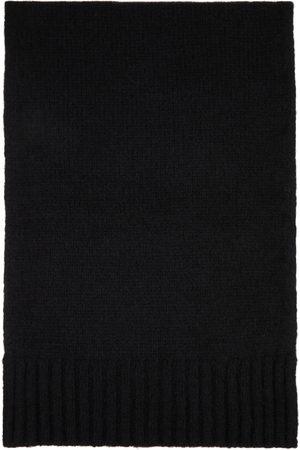 DoppiaA Men Scarves - Black Aalbir Scarf