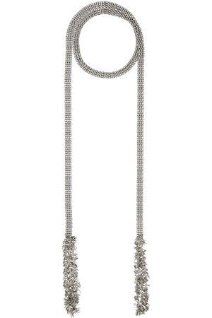 Isabel Marant Men Necklaces - Silver Leafy Scarf Necklace